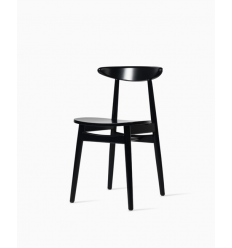 Teo dining chair Nearly black