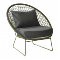 Nora lage fauteuil moss
