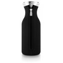 Fridge carafe 1.0l black woven