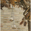 Glass bird feeders, 2pcs.